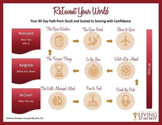 Proprietary ReInvent Your World System, Donna Woolam, Thoughts